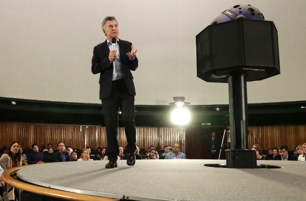 Mauricio Macri anuncio nuevas metodologías en la enseñanza de matemáticas