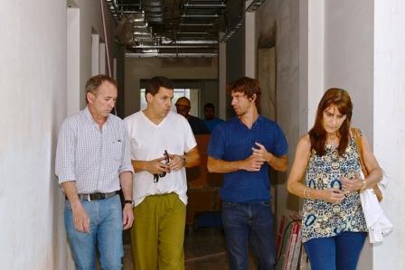 Juan Andreotti supervisó la llegada de un resonador de última tecnología para el Hospital Municipal de San Ferrnando