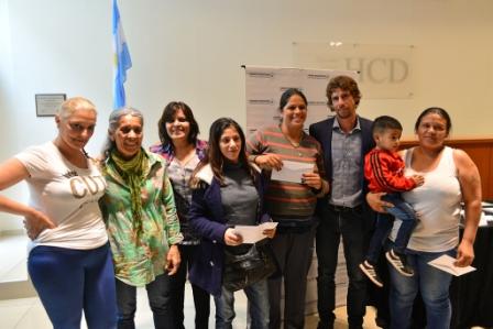 Juan Andreotti otorgó subsidios habitacionales a 65 familias de San Fernando