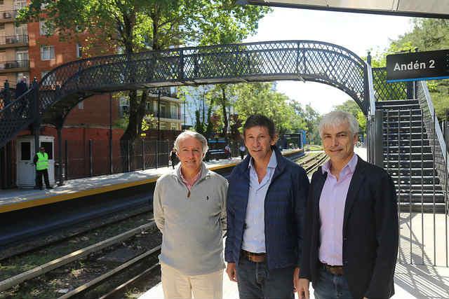 Se inauguró la renovada estación de Beccar en San Isidro