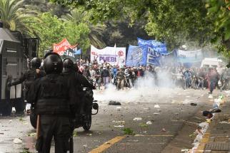 Al menos 27  detenidos en el marco de la protesta por el presupuesto 2019