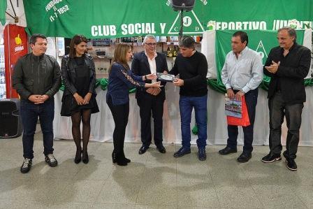 Tigre acompañó al Club Social y Deportivo Juventud en su 66º aniversario