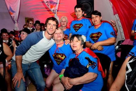 El Diputado Provincial Juan Andreotti compartió la fiesta de todos los Polideportivos en dos jornadas inolvidables plenas de música, luces y color