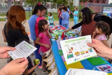 San Fernando celebró el Mes de la Alimentación en la Plaza del Bicentenario