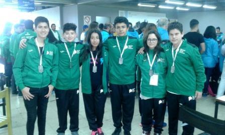 La ajedrecista Anapaola Borda y el nadador Gerónimo Pardo obtuvieron medallas de oro, plata y bronce en los Juegos Nacionales Evita, que se realizaron en Mar del Plata.