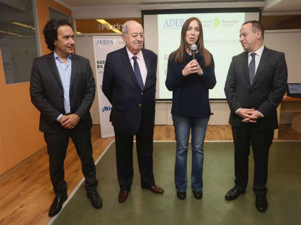 Vidal clausuró una jornada de capacitación organizada por la Secretaria de Medios y la Asociación de Entidades Periodísticas Argentinas (ADEPA)