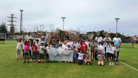 Se disputó en San Fernando el Tercer Torneo de Tenis Interescuelas de zona Norte