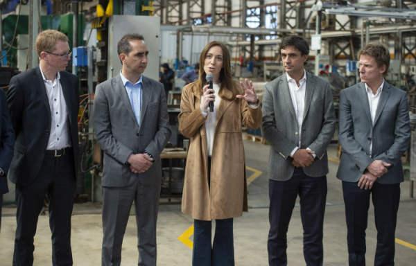 Vidal anunció una serie de medidas destinadas a favorecer la operatividad de las pequeñas y medianas empresas bonaerenses