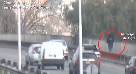 Intentó robar una casa, huyó y fue atrapado gracias a las cámaras de Tigre