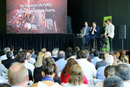 La provincia reunió en Vicente López a más de 250 pymes que podrían ser proveedoras en vaca muerta