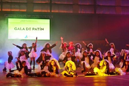 Espectacular gala de la Escuela Municipal de Patín de San Fernando