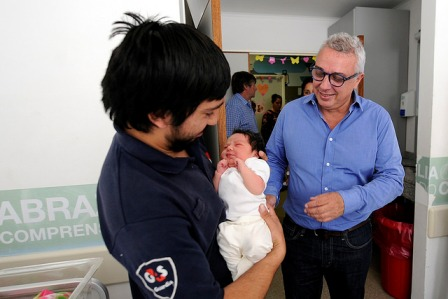 Nació Bella, la bebe 4000 de la Maternidad de Tigre en 2018