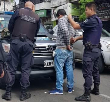 Vicente López: Tenía pedido de captura, caminaba tranquilamente y fue capturado