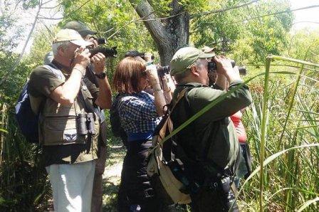 Comenzó una nueva edición del ciclo de avistaje de aves en Tigre
