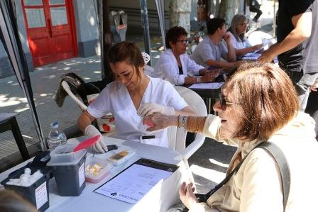 Sigue en San Isidro la campaña para prevenir enfermedades cardiovasculares