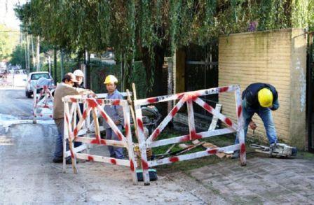 Más de 1.000 vecinos de Beccar se beneficiarán con la red cloacal