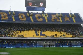 Se juega la superfinal Boca-River: Conmebol oficializó que el campo de juego está en condiciones