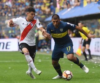 Boca y River empataron en la Bombonera y dejaron la final de la Libertadores abierta para la revancha