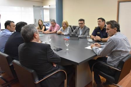 Katopodis se reunió con el Fiscal General y el Jefe Departamental de la Policía para coordinar acciones en seguridad