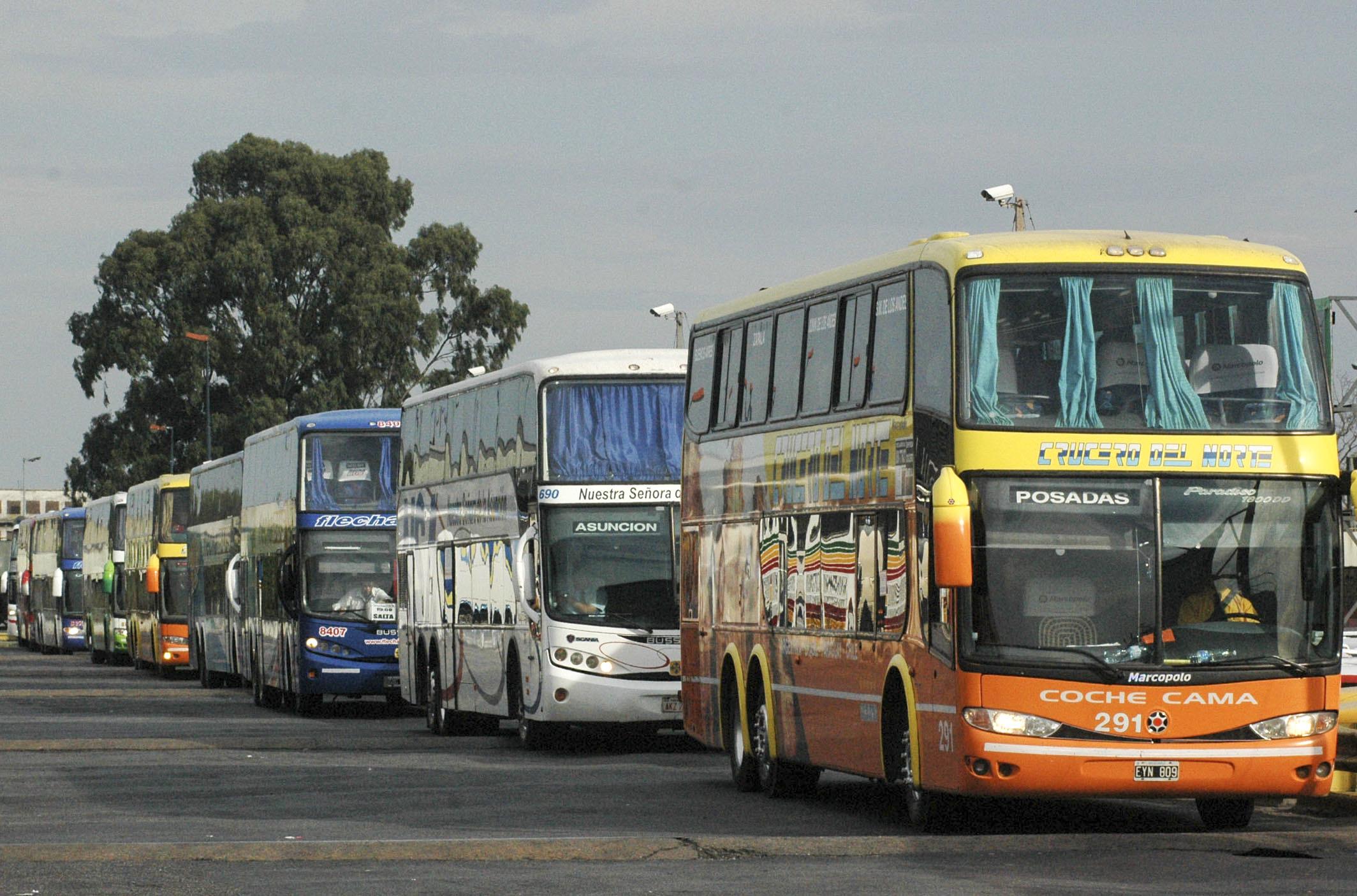 No habrá medios de transporte de media y larga distancia durante el fin de semana largo