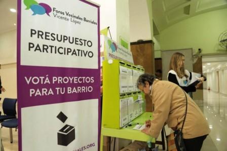 Vicente López: Dieron a conocer los proyectos elegidos en los Foros Vecinales Barriales 2018
