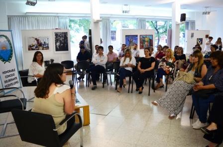 Se realizó una jornada sobre Equidad de Género en el Concejo Deliberante de Vicente López