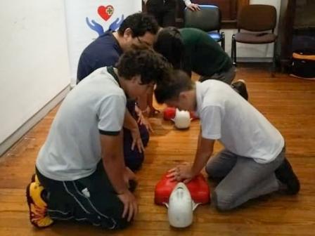 Vicente López brinda talleres de RCP y Primeros Auxilios en las escuelas