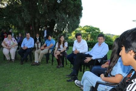 Posse y Sánchez Zinny dialogaron con alumnos sanisidrenses