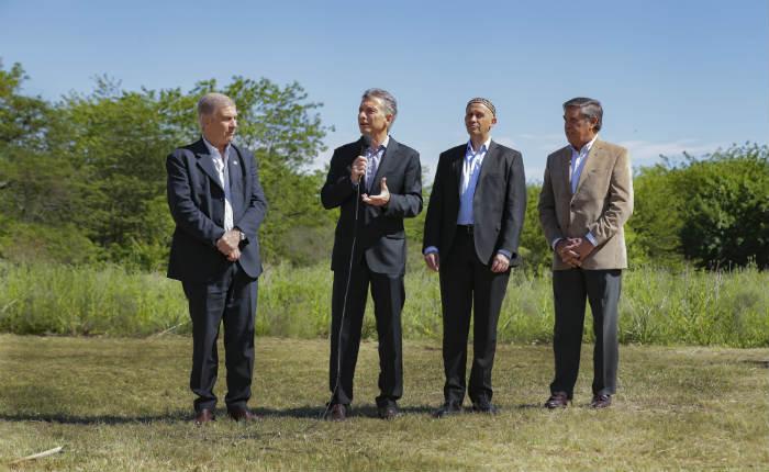 Macri inauguró la reserva natural de Campo de Mayo