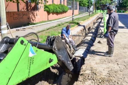 San Fernando realiza operativos preventivos de control de plagas en el barrio Mil Viviendas