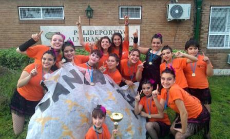 Alumnas de danza jazz de Tigre ganaron el Torneo Nacional Copa LA