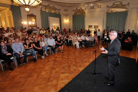 El intendente de Tigre, Julio Zamora, encabezó la primera edición de