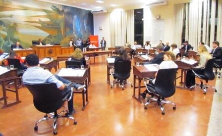 HCD de Tigre en la sesión para tratar el transporte púbico en Nordelta