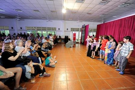 Comenzó la muestra anual de talleres culturales de Tigre