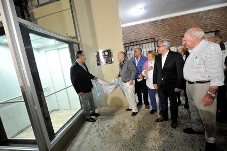 Inauguran obras en la Biblioteca Popular Sarmiento de Tigre