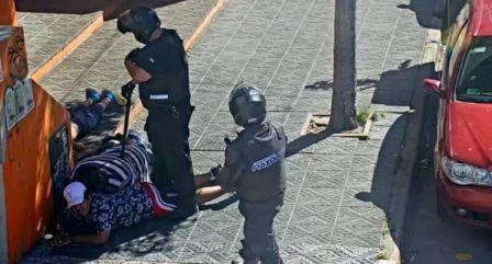 Tres delincuentes detenidos por las cámaras de Vicente López