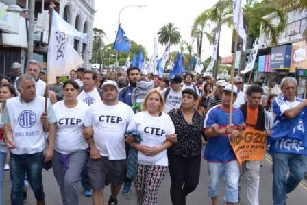 Movimientos populares se pronunciaron contra el G20 en Tigre