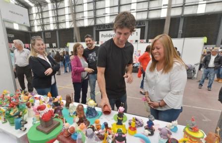 Juan Andreotti visitó la Expo Talleres Culturales 2018 de San Fernando