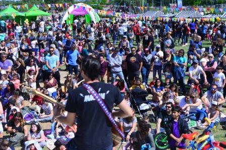 Los niños celebraron sus derechos en Vicente López