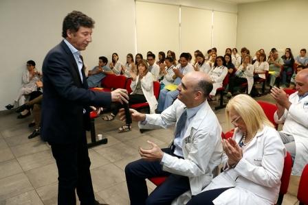 Posse abrió las jornadas científicas anuales del Hospital Central de San Isidro