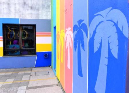 Nuevo mural en la Escuela Primaria 4 de Munro