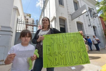 Vecinos del Delta convocan a manifestarse ante la empresa Edenor por los cortes de luz