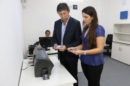 San Isidro inauguró su centro de impresión municipal de licencias de conducir