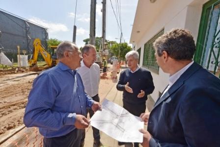 Andreotti supervisó el comienzo del Túnel de Martín Rodríguez
