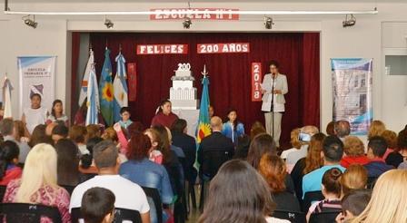 Cumplió 200 años la Escuela N° 1 de San Fernando