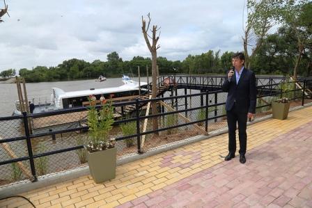 San Isidro ya tiene muelle para viajar a Puerto Madero