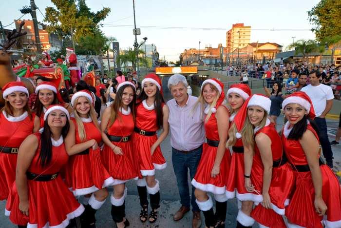 Andreotti saludó a los trabajadores municipales por las fiestas.