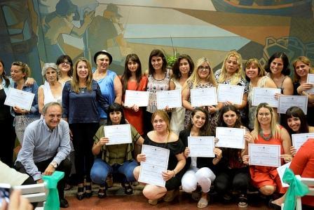 En el HCD de Tigre, alumnos del Centro Psicosocial Argentino recibieron sus certificados de egreso