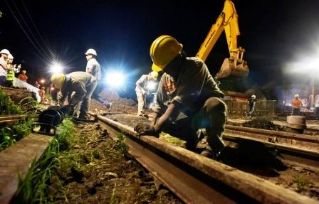 Avanza la construcción de los Pasos Bajo Nivel de Ballester y Chilavert