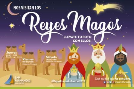 Llegan los Reyes Magos a San Fernando